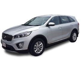 Luxury Kia Sorento Rental